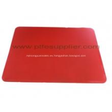ROJO, resistente, Flexible y antiadherente de silicona para hornear Shee