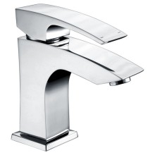 Brass basin faucet with zinc handle mixer taps