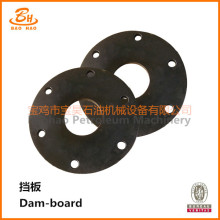 Baffle/Dam-board for Mud Pump Parts