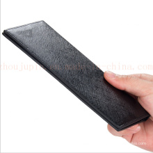 OEM 0.5cm Thickness Portable Thin Men′s PU Male Purse Wallet
