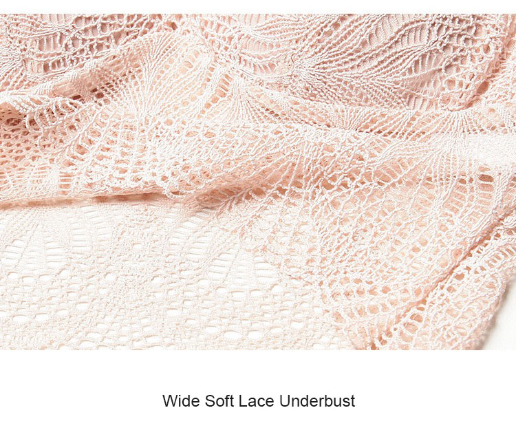 Ultra Wide Lace Underbust