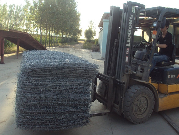 chain link gabion baskets