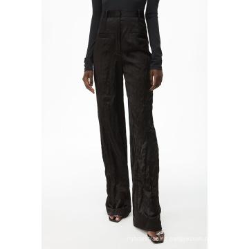 New Arrivals Lightwight Black Slim Fit Work Pants