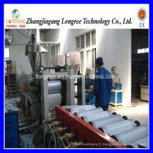 400-600mm haute efficacité extrudeuse de feuille de PVC / machine de feuille de baguage de bord de PVC avec la ligne de découpeuse et d'impression