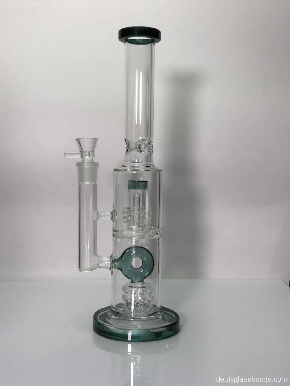 Zwei Kammer Zwei Filter High End Glasbongs