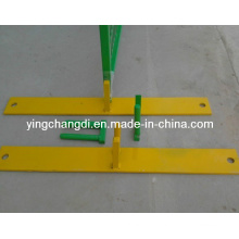 Temporary Fence Feet Construction Scaffolding Road Highway Fences