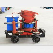 Máquina de pulverización de hormigón pequeña accionada por aire Máquina de gunitación de hormigón seco
