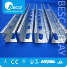 High Quality Cold Bending Stainless Steel Unistrut Channel