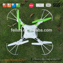 New 3D flying uav white 2.4G 4CH 6-axis gyro rc quad copter drone uav