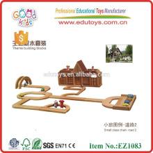 Kindergarten Wooden Block Construction Toy