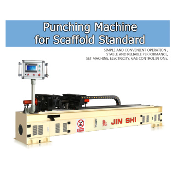 Perancah Standard Precision Scaffold Punching Machine