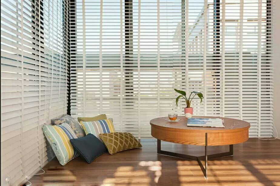 63mm Faux Wood Venetian Blinds