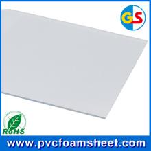 Muebles para armarios de 18 mm que producen un proveedor de paneles de espuma de PVC (Color: blanco puro)