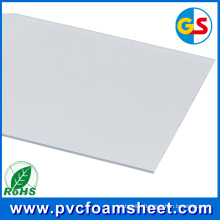 18mm Cabinet Furniture Producing PVC Foam Board Supplier (Color: Pure white)