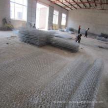Mais barato galvanizado gabião cesta de anping na china