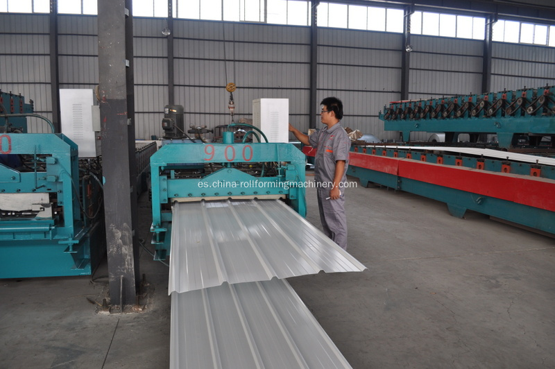 Teja Roll Forming Machine para clientes