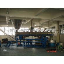 Linha de produção de materiais para azulejos de chão