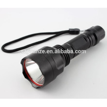 Five-speed police zoom powerful rechargeable LED Tactical LED Flashlight