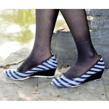 Девушки досуг ПВХ обувь, мода женщин высокий каблук дождя сапоги