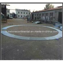Stahlgitterhersteller Grabenabdeckung