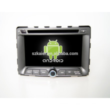 Quad core! DVD de coche con enlace de espejo / DVR / TPMS / OBD2 para 7 pulgadas de pantalla táctil de cuatro núcleos 4.4 sistema Android Ssangyong Rodius