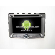 Quad core! Dvd de voiture avec lien miroir / DVR / TPMS / OBD2 pour 7 pouces écran tactile quad core 4.4 Android système Ssangyong Rodius