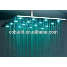 SS Water Saving ceiling Mounted shower head,big square shower heads