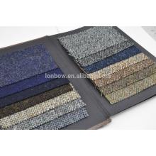 Best selling design Harris Tweed tecido 100% lã virgem 150 cm de largura