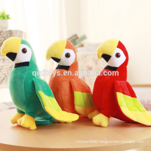 High Quality Soft Stuffed Parrots Toys Wholesale