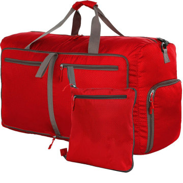 Weekender Red Duffle Yoga Sports Bag