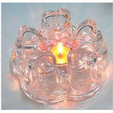 Новый дизайн Heart Shape Glass Teapot Warmer для оптовых покупателей