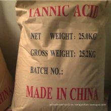 Ácido tánico de alta calidad 1401-55-4 con buen precio