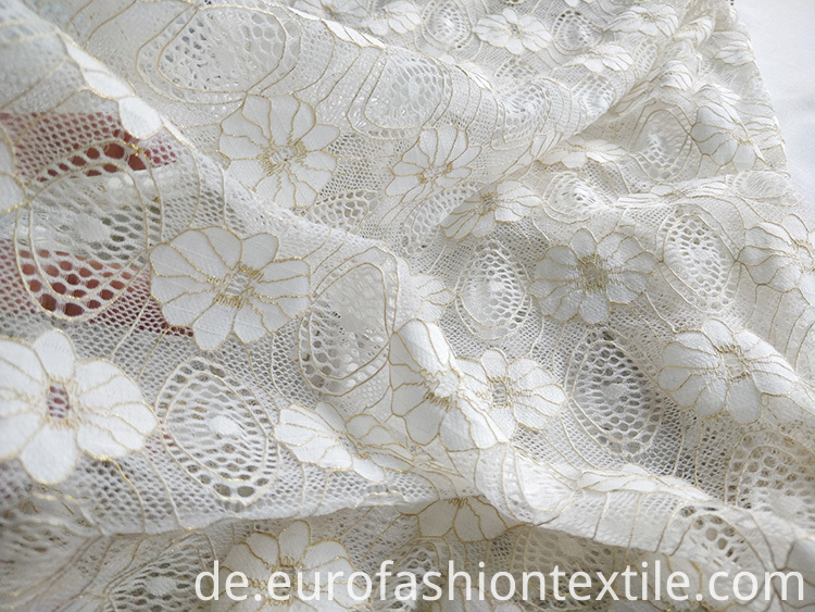 Knitting Lace Fabric