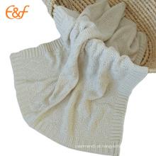 Pure Soft Acrílico Designer Baby Blankets Padrões para crianças