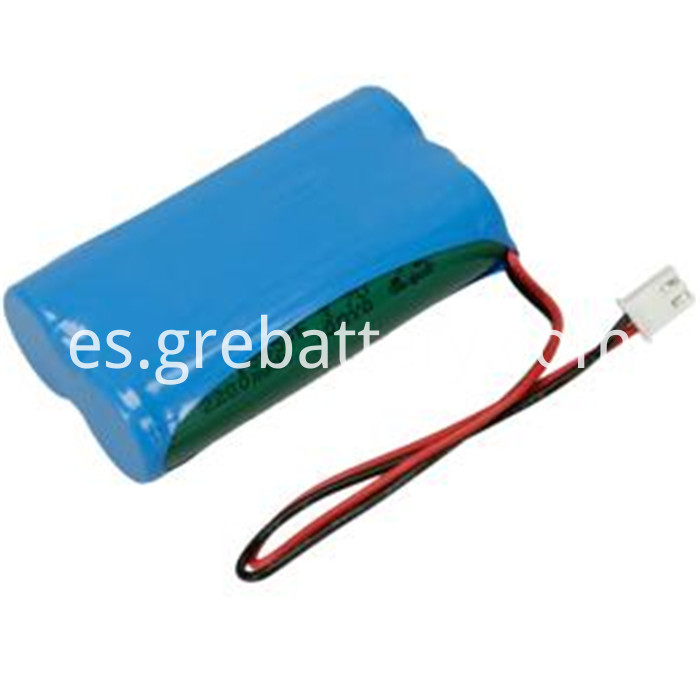 7.4V 2200mAh li-ion battery