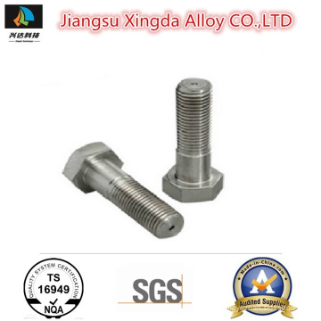 High Quality Nickel Alloy B2 B3 C4 C22 C276 G30 Hex Head Bolt
