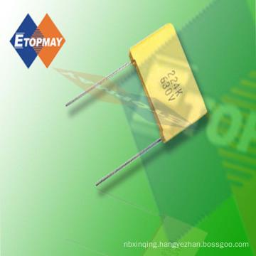 Topmay 1250V Box Type Metallized Polypropylene Film Capacitor Cbb28