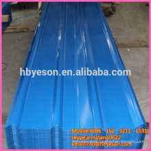 steel top roof sheet / blue steel top roof / reinforce wall sheet steel