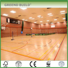 Anti-slip Indoor Large-scale Badminton Sport Court Maple Wood Flooring