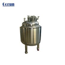 Réservoir de stockage d'eau sanitaire en acier inoxydable