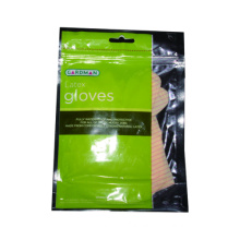 Disposable Latex Glove with Printed Bag Packing
