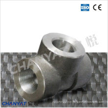 Sch80/Xs Threaded Tee B626 Uns N10276(Hastelloy C276