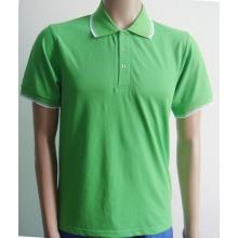 Camisa de Polo de los hombres de contraste color cinta mangas