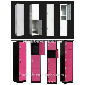 Double door vertical school locker/student locker