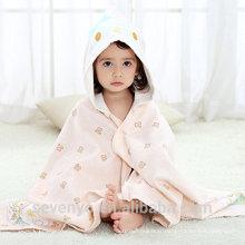 doux bébé bio pour bébé serviette à capuche de haute qualité salive Couverture en bambou souple antibactériennes organique, unisexe Hypoallergénique