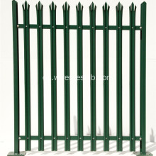 W Shape Powder Coated Euro Palisade Fence