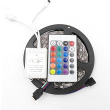 Télécommande 12 V 5 M 300 Leds SMD 3528 2835 Diode Ruban RGB et Couleurs Unique LED Ruban Flexible led bande de lumière