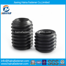 Alloy steel hex head socket set screw with cup point