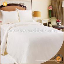 100% Algodão White Stripe Usado Hotel Cama Roupa de Cama