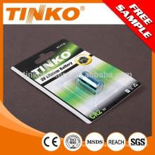 Super Li/MnO2 battery high power and long lasting